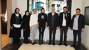 Tuğba Akkar Şen'den SATSO'ya ziyaret