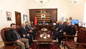 Vali Nayir SGC yönetimini kabul etti