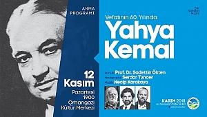 Yahya Kemal OKM'de anılacak