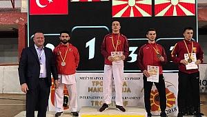 Ateş Makedonya'da İkinci oldu