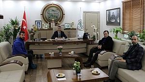 Başkan Burak'a hayırlı olsun ziyaretleri devam ediyor