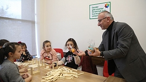 Başkan Yılmazer, Yerli Malı Haftasını Çocuklarla Kutladı