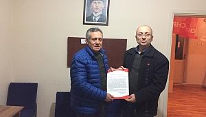 Cumhuriyet Halk Partisi Arifiye ilçe başkanlığına Mustafa KURU'dan belediye Meclis Üyeliği Aday Adaylığı başvurusu