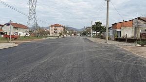 Ekrem Günay Caddesi asfaltlandı