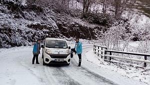 ESH ekipleri kar kış dinlemiyor