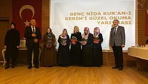 """""""Genç Nida Kız Öğrenciler Kur'an-ı Kerim'i Güzel Okuma Yarışması"""" Kaynarca'da Yapıldı"""