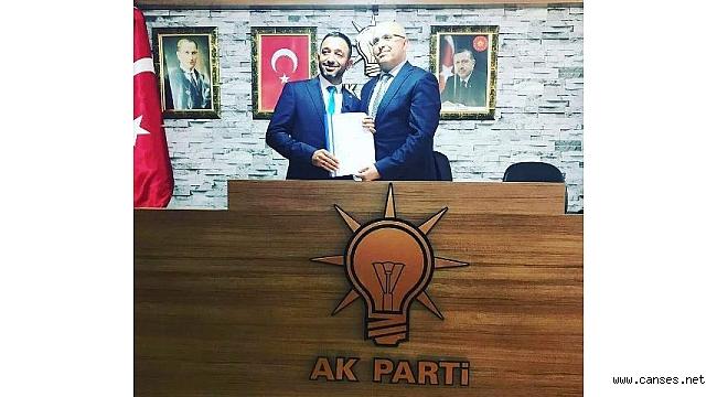Mehmet Demir Belediye Meclis üyesi aday adaylığına başvurdu