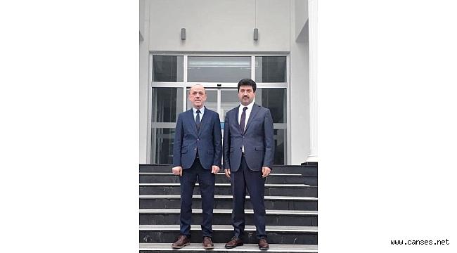 Sakarya Uygulamalı Bilimler Üniversitesi Rektörü Sarıbıyık'tan Öztürk'e İade-i Ziyaret
