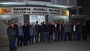 Samsunspor Kulüp Başkanı Rumeli Balkan Derneği'nde