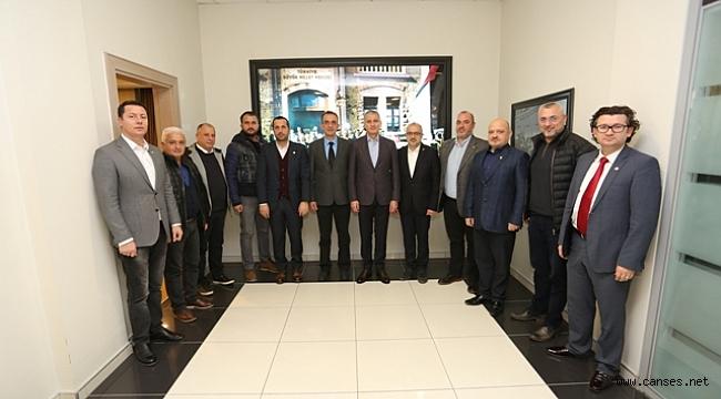 SASİAD YENİ YÖNETİMİ'NDEN SATSO'YA İLK RESMİ ZİYARET
