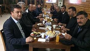 Taraklı Ziraat Odası yemekli toplantı düzenledi