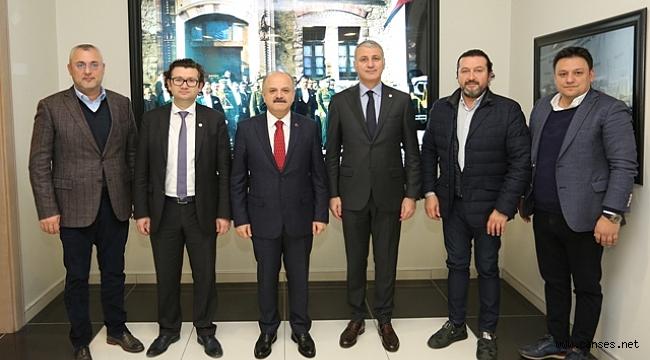 VALİ ÇAKACAK'TAN SATSO'YA ZİYARET