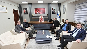 15. meslek komitesi'nden il milli eğitimi müdürü'ne ziyaret