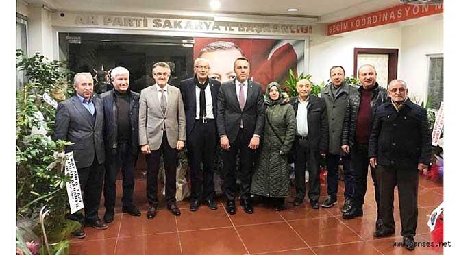 AK Parti İl Başkanı Yunus Tever'e Hayırlı Olsun Ziyareti