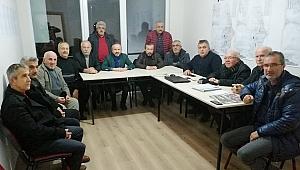 BAHÇELİEVLER SAKİNLERİ ZAFER KAZAN'I ZİYARET ETTİ