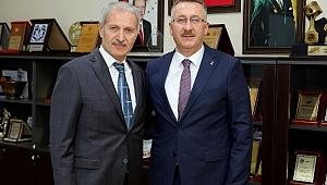 Başkan Dişli'ye Işıksu'dan ziyaret