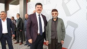 Cevdet Koç'tan Erenler Halkına Gönül Dolusu Teşekkür