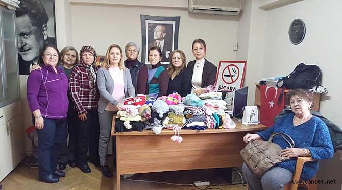 CHP kadın kolları başkanı Gönül İrşi bin açıklamasıdır.