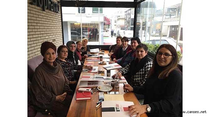Kadın Adayları Destekleme Derneği Kadın Muhtar Adayları ile Buluştu