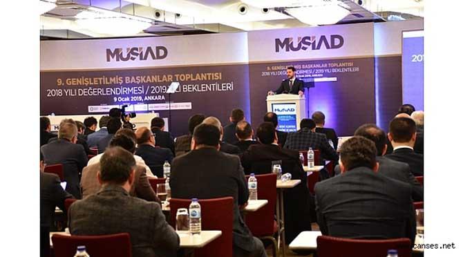 MÜSİAD Sakarya Başkanı, Hazine ve Maliye Bakanı Berat Albayrak ile görüştü