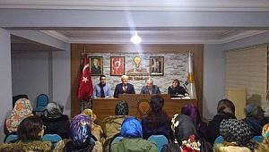 Mustafa Ak AK Parti Adapazarı İlçe Teşkilatını Ziyaret Etti