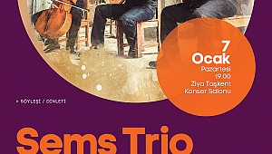 'Şems Trio' Ziya Taşkent'te