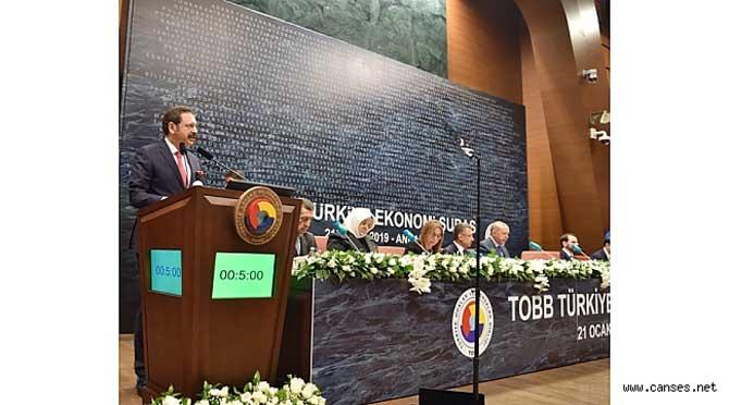 TOBB Ekonomi Şurası'nda sorunlar ve çözüm önerileri iletildi
