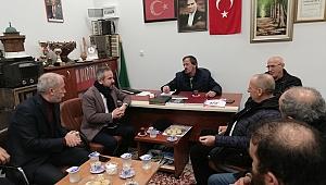 ZAFER KAZAN'DAN BOSNA SANCAK DERNEĞİNE ZİYARET