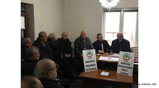 ZAFER KAZAN'DAN TÜM EMEKLİLER SENDİKASINA ZİYARET