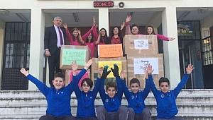 Aykut Yiğit Ortaokulu'ndan Uzanan Sıcak Eller Projesi