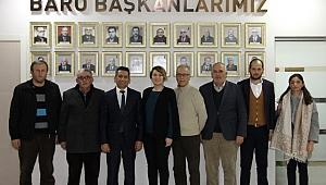 Başkan Burak'a ziyaretler sürüyor