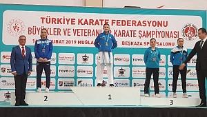 Büşra Tosun Türkiye Şampiyonu
