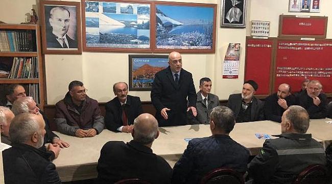 İYİ Parti Büyükşehir Belediye Başkan adayı Cihan Kolip Giresunlu Hemşehrilerinin Misafiri Oldu