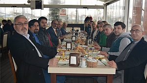 İYİ Parti Erenler Belediye Meclis üyeleri Kahvaltı Programı