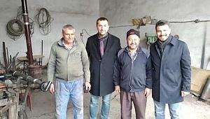 Pilavcı Sanayi Sitesinde Esnafları Ziyaret Etti
