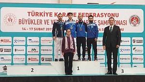 Sakarya'lı Karatecilerden Türkiye Şampiyonasında 1 Altın 3 Bronz Madalya