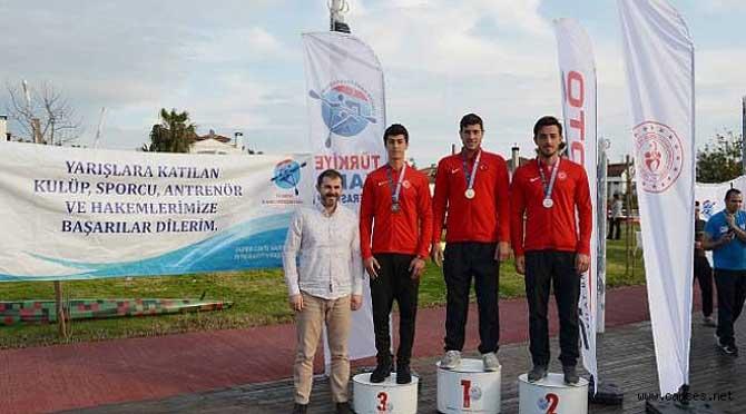 Sepaş Enerji'nin Desteklediği Mustafa Özmen'den Birincilik Geldi