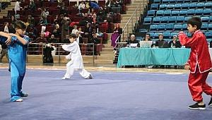 Türkiye Wushu Şampiyonası Nefesleri Kesti