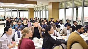 Uluslararası Öğrenciler Kahvaltıda Buluştu