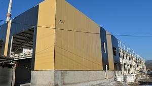 Yeşilyurt Ticaret Merkezi Tamamlanıyor