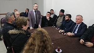 ZAFER KAZAN GÜMÜŞHANELİLER DERNEĞİ ZİYARET ETTİ