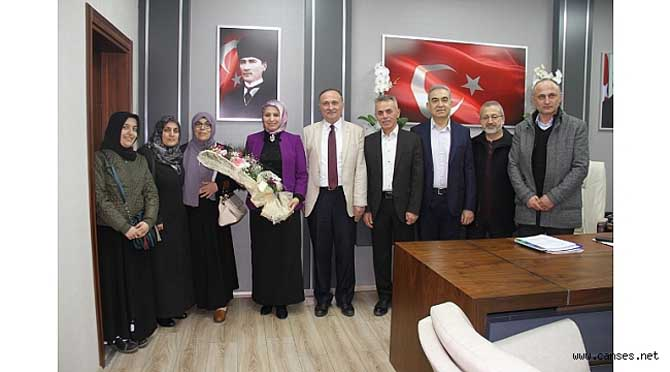 28 Şubat Platformu'ndan Durmuş'a Ziyaret