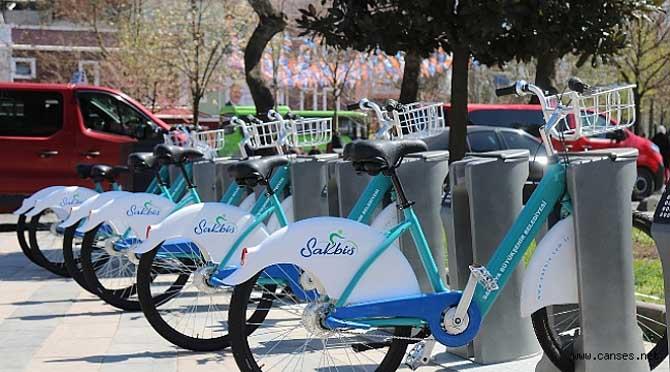 Akıllı Bisikletler Duraklara Yanaştı