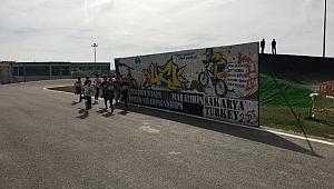 Ayçiçeği Bisiklet Vadisi'nde atletizmciler yarıştı