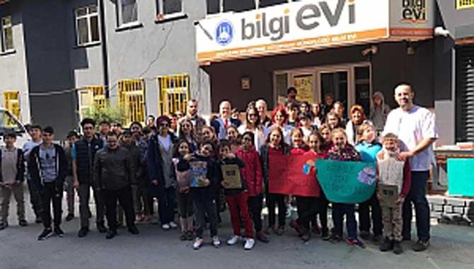 Bilgievi Kütüphane Haftası'nı kutladı