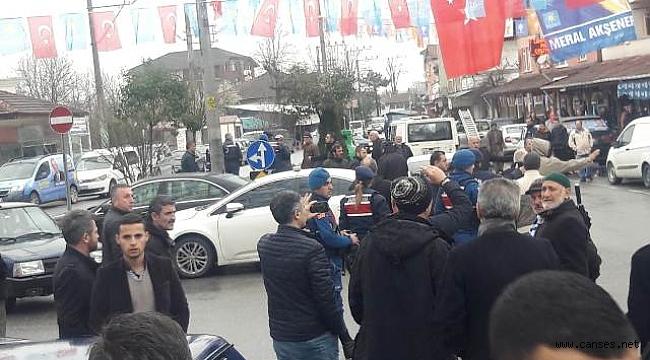 Çaybaşı Yeniköy'de Çirkin Provakasyon