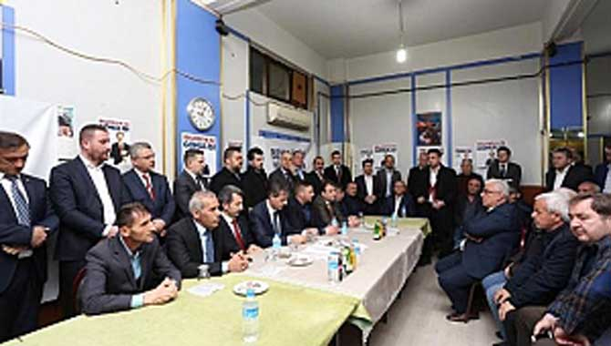Cumhur İttifakı'ndan Serdivan'da Miting Gibi Program