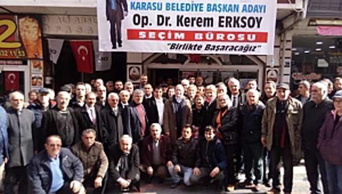 Cumhuriyet Halk Partisi Sakarya İl Başkanlığını İstanbul Milletvekili Akif Hamza Çebi Ziyaret Etti