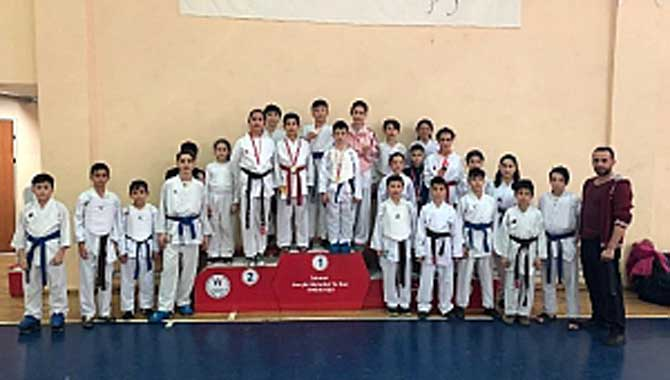 Geyveli Karateciler MEB Okullarda da Var