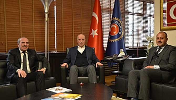 Kantin-İş Sen'den Türk-İş'e Ziyaret